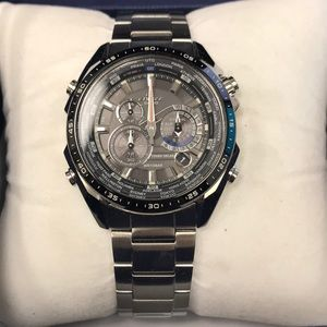 Casio Stainless Steel Chronograph watch